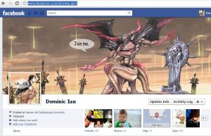 New Facebook Cover and Profile Pic Art by Nick-Ian