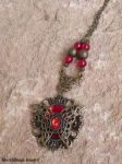 Red butterfly by BlackWings-jewelry