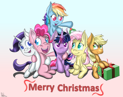 Merry Christmas 2014 by Sintakhra