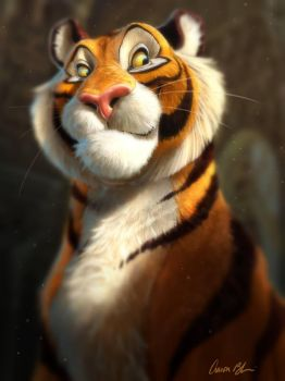 Rajah (from Aladdin) by ablaise