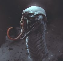 Snake Creature by streetX222