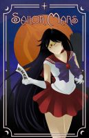 Art Deco Sailor Mars by Ranefea