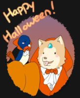 Happy Halloween 8D by CrazyKuri-chan