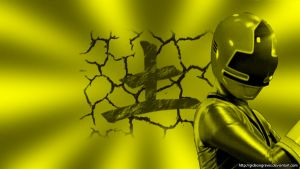 Wallpaper- ShinkenYellow by gideongraves