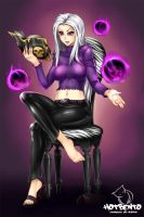 Syndra League of Legends (commission) by hotbento