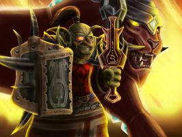 World of Warcraft Goblin Shaman by Zorrentos