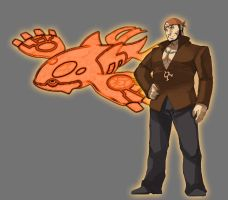 Orange Agent Archie w Kyogre Avatar by Lord-Lycan