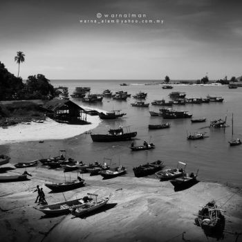Dungun,Fishing Village by warnaiman