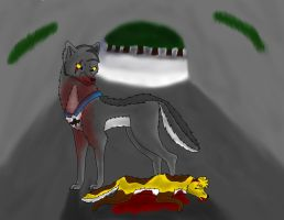 Unknown Blood Heather's death by bluewolf14