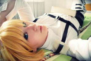 Armin Arlert - Bookworm by Naru-kawaii-chan