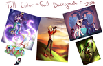 full color Full background teir by kera-moondust