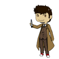 tenth doctor by atomiClaire
