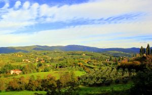 Tuscan landscape by frei76