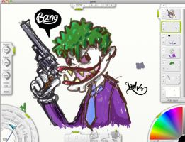 Doodle - The Joker by ExoesqueletoDV