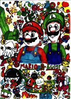 Itsa Mario Party by Tomatem13