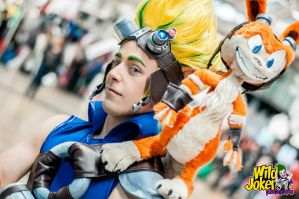 Jak and Daxter cosplay by taifu89
