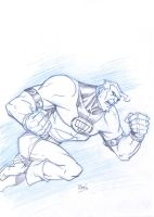 Warm up: Fist of Justice RUSH by Darry