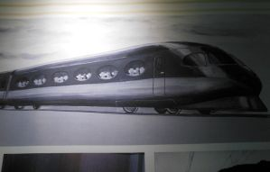 Shinkansen Bullet Train Concept by rlkitterman