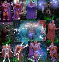 Magneto Marvel Ult. Alliance by DarkMarkZX