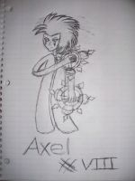 Axel by marshmellowguy