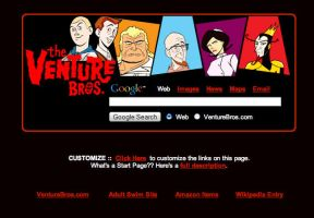 The Venture Bros. Google Theme by AwesomeStart
