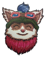Teemo Portrait by Ailin34