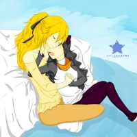 Bumblebee Cuddle by criselaine