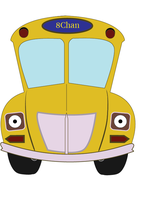 Magic School Bus vector (front) by Thumper314