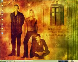 Desktop-Doctor Who by kitkatfox