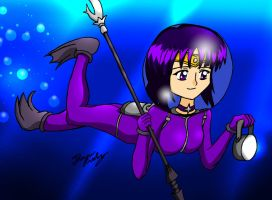 CM: Saturn Dives In by MeganekkoPlymouth241