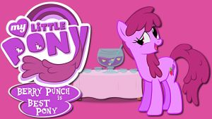 Wallpaper Berry Punch best pony by Barrfind