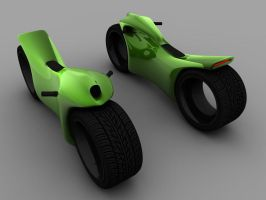 Concept Motorcycle by theaaronp