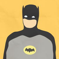 Batman (Simplistic) by Geoffery10