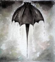 Sai's Bat Brolly 2 by madaboutvampires