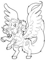 Pony Commission 01 by JulieKarbon