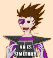 No es simetrico | Vegetta777 by Jazz-13