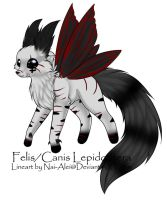 Felis/Canis Lepidoptera Adopt: CLOSED by Inner-Realm-Adopts