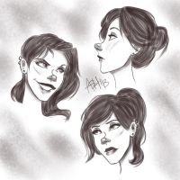 Lacey Faces by ashesto