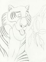 tiger from the jungle book by Angels-Pixie-D