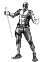 WIP Deadpool Concept by wmarinics18
