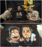 The Vaudevillains Chibi Surprise! by kapaeme