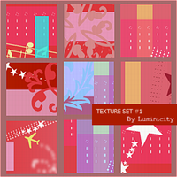 Texture Set 1 by luminicity