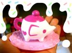 Elephant tea pot by SprinkleChick