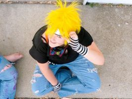 Naruto from above by Nekochibiproductions