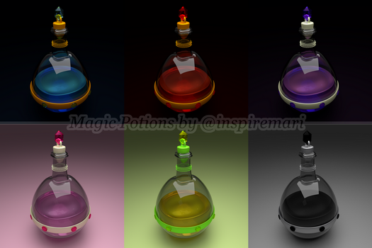 Magic Potions by InspireMari