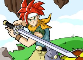 Crono Chrono Trigger Colour by Kyosourade