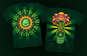 Greenschedelic Tees by ipang