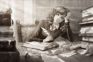 Hermione Granger as Chief Curse Breaker 2 by SeveranSnape