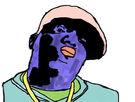 Biggie is Colorful by LandonMenze