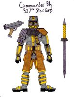 Commander Bly by Sir-Saboteur